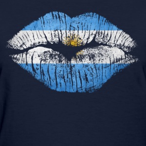 argentina kiss - Women's T-Shirt