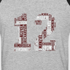 All Time Texas Aggieland 12th Man Football Greats  - Baseball T-Shirt