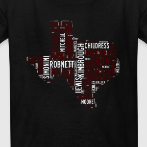 All Time Texas Aggieland Football Greats Kid's Bas - Kids' T-Shirt