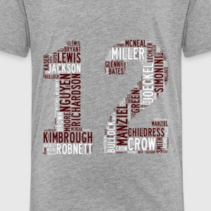 All Time Texas Aggieland 12th Man Football Greats  - Toddler Premium T-Shirt