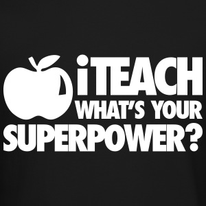 iTech What's Your Superpower? Long Sleeve Shirts - Crewneck Sweatshirt