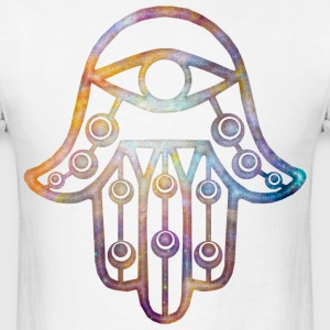Galaxy Hamsa T-Shirts - Men's T-Shirt