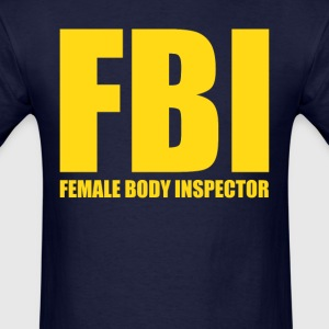 Female Body Inspector (3) - Men's T-Shirt