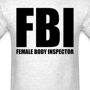 Female Body Inspector (1) - Men's T-Shirt