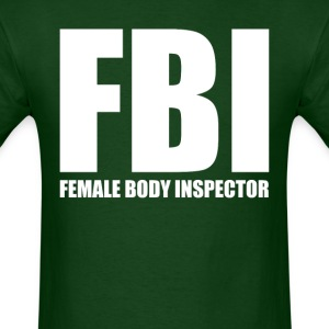 Female Body Inspector (2) - Men's T-Shirt