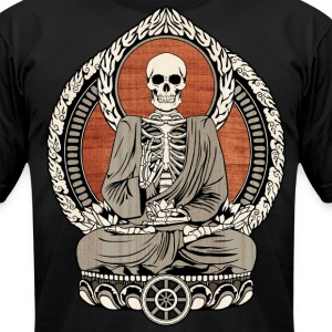 Starving Buddha T-Shirts - Men's T-Shirt by American Apparel