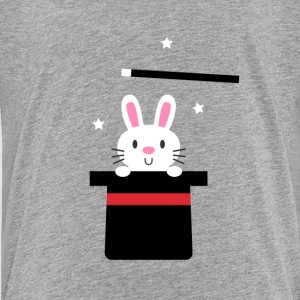 Magic Bunny and Hat Kids' Shirts - Kids' Premium T-Shirt