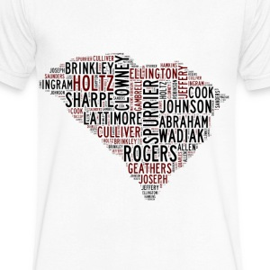 All Time South Carolina Football Greats Men's -V-N - Men's V-Neck T-Shirt by Canvas