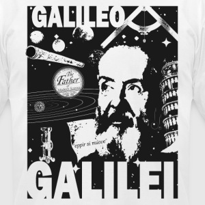 Galileo Galilei - Men's T-Shirt by American Apparel