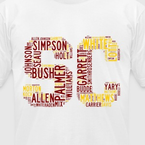 All Time SoCal Football Greats SC Design Men's T-S - Men's T-Shirt by American Apparel