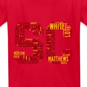 All Time SoCal Football Greats SC Design Kid's Bas - Kids' T-Shirt