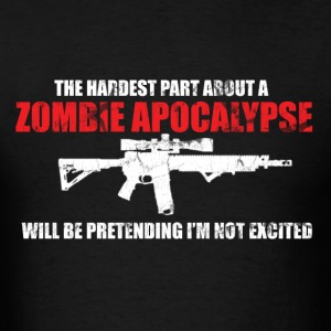 Men's Zombie Apocalypse Shirt - Men's T-Shirt