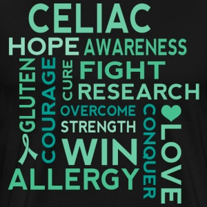 Celiac Disease Awareness slogan T-Shirts - Men's Premium T-Shirt