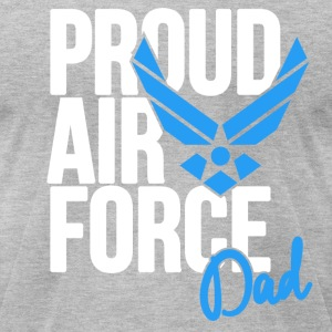 Air Force Dad Army Father T-Shirts - Men's T-Shirt by American Apparel