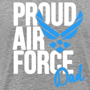 Air Force Dad Army Father T-Shirts - Men's Premium T-Shirt