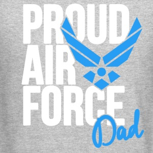 Air Force Dad Army Father Long Sleeve Shirts - Crewneck Sweatshirt