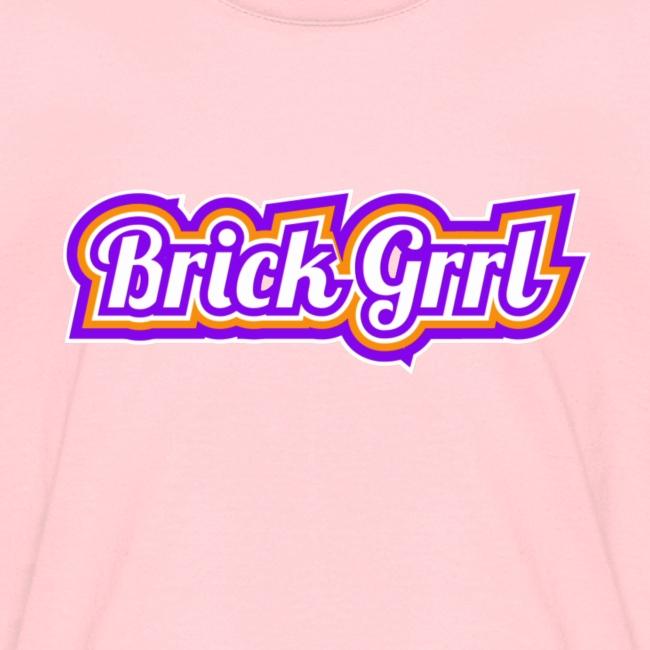 Brick Grrl Tshirt kids