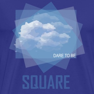 Cloud Square - Men's Premium T-Shirt