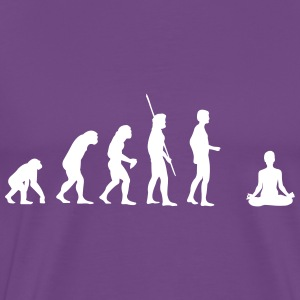 Evolution Yoga Shirt - Men's Premium T-Shirt