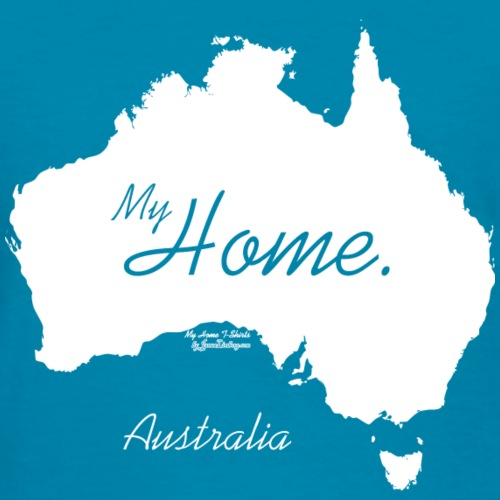 Home T Shirt, Australia - AUS, White
