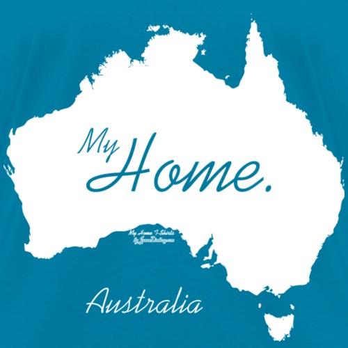 Home T Shirt, Australia - AUS, White