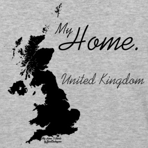Home T Shirt, United Kingdom - GBR, White T-Shirts - Baseball T-Shirt