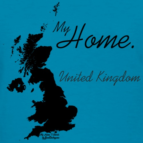Home T Shirt, United Kingdom - GBR, Black