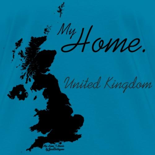 Home T Shirt, United Kingdom - GBR, Black