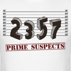 The Prime Number Suspects T-Shirts