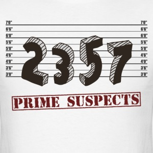 The Prime Number Suspects T-Shirts - Men's T-Shirt