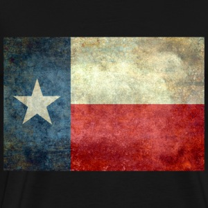 Texas flag Vintage retro T-Shirts - Men's Premium T-Shirt