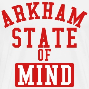 Arkham State Of Mind T-Shirts - Men's Premium T-Shirt