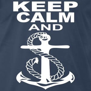 keep calm and anchor T-Shirts - Men's Premium T-Shirt