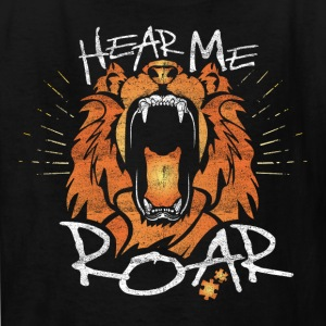 Hear Me Roar - Kids' T-Shirt