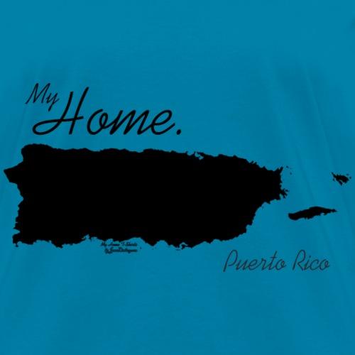 Home T Shirt, Puerto Rico - PR, PRI, Black
