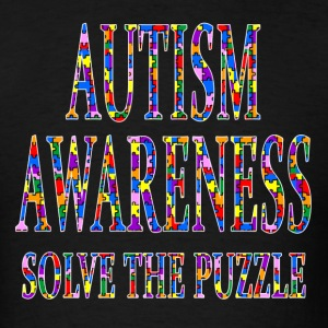 Autism Awareness Solve the Puzzle Tees - Men's T-Shirt