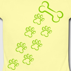 Bone and dog print Baby & Toddler Shirts - Short Sleeve Baby Bodysuit
