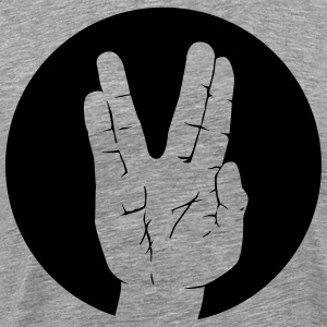 Spock Vulcan greeting circle Shirt - Men's Premium T-Shirt