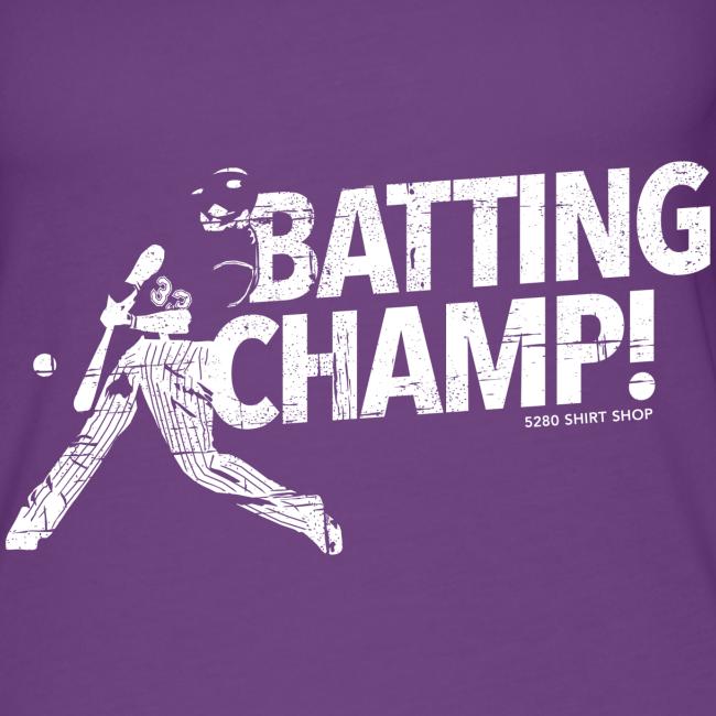 Batting Champ - Ladies Tank Top