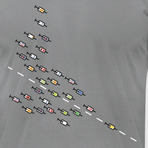 Tour de France T-Shirts - Men's T-Shirt by American Apparel
