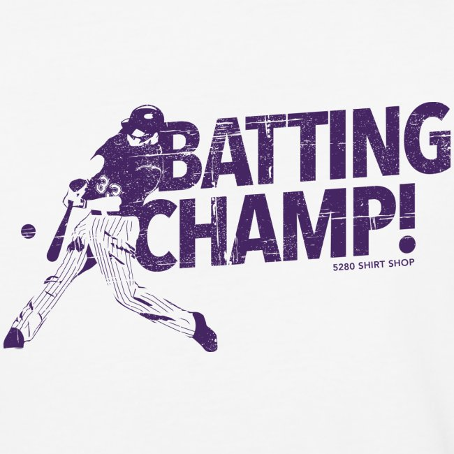 Batting Champ - Mens Baseball T-Shirt