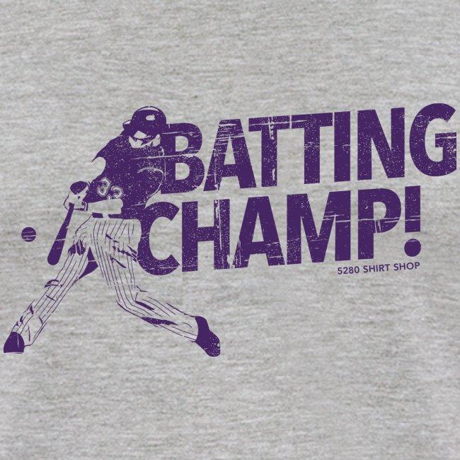 Batting Champ - Mens Baseball T-Shirt