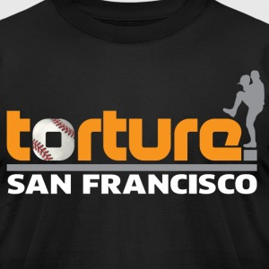 Torture San Francisco T-Shirts - Men's T-Shirt by American Apparel
