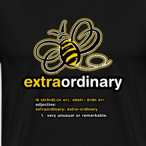 Bee-Extraordinary (men) - Men's Premium T-Shirt