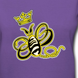 Queen-Bee (v-neck) - Women's V-Neck T-Shirt