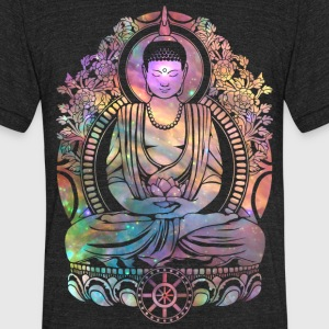 Cosmic Buddha T-Shirts - Unisex Tri-Blend T-Shirt by American Apparel