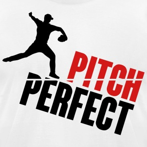 Pitch Perfect - baseball T-Shirts - Men's T-Shirt by American Apparel