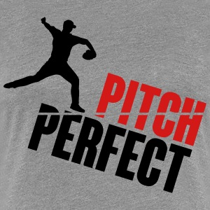 Pitch Perfect - baseball Women's T-Shirts - Women's Premium T-Shirt