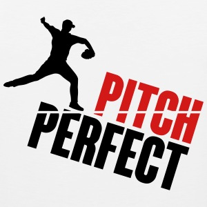Pitch Perfect - baseball Tank Tops - Men's Premium Tank