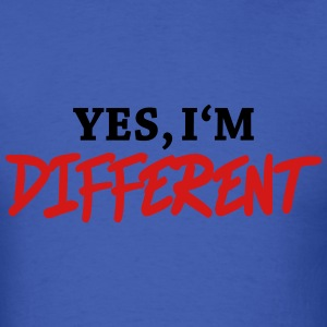 Yes, I'm different T-Shirts - Men's T-Shirt